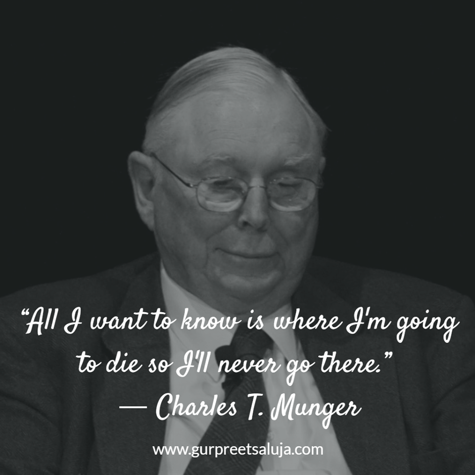 single men in munger How to invest like charlie munger the two men do not seek it is better to be worldly wise than to spend lots of time working with a single model.