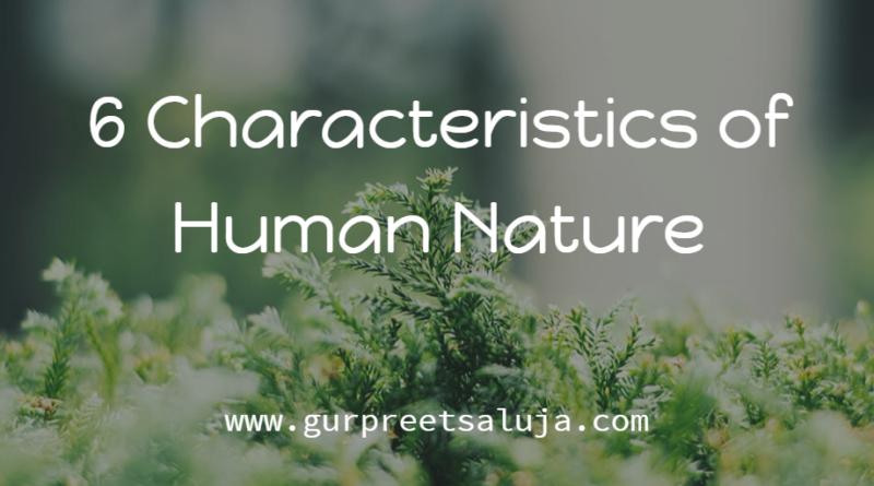 characteristics of human nature